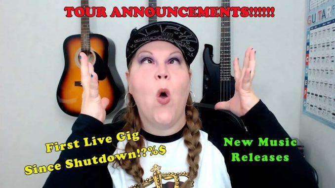 Tour Announcement 2021