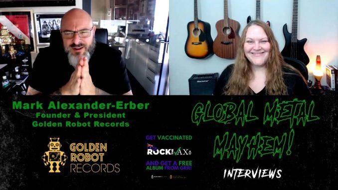 Golden Robot Records Mark Alexander-Erber